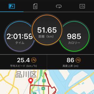 2020.08.30朝練〜大井埠頭サイクリング