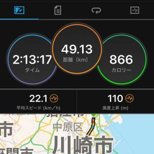 2020.11.22朝練〜横浜ハンマーヘッドサイクリング
