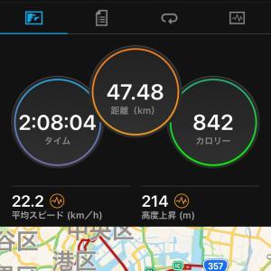 2021.07.25朝練〜葛西臨海公園サイクリング