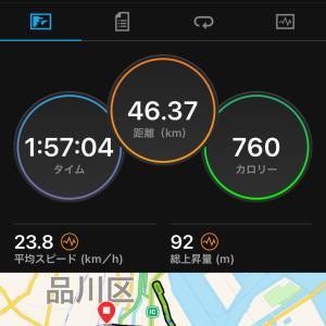 2021.09.26朝練〜大井埠頭サイクリング