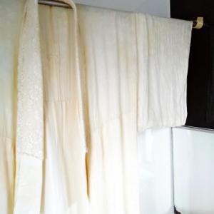 夏の襦袢を洗いました