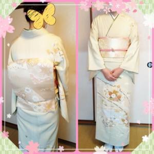 入学式の着物