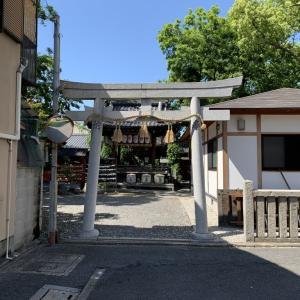 キャ二さんぽ47~武信稲荷神社