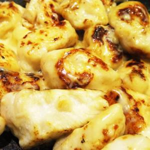 ささみなのに柔らかっ!カリッとチーズがおいしい「ささみのチーズ焼き」