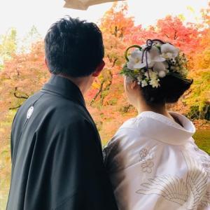 【髪飾り】レッスンで制作した ''ヘアフラワーアレンジ'' 素敵なお写真が届きました☆彡