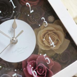 【花時計レッスン】3月末まで❀ 特別価格でのレッスン❀ この機会に花時計を作りましょう❀