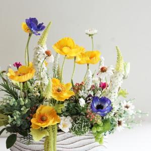 【サイアム和装 お花】オーダーメイド作品❀ サイアム和装さま 展示のお花❀