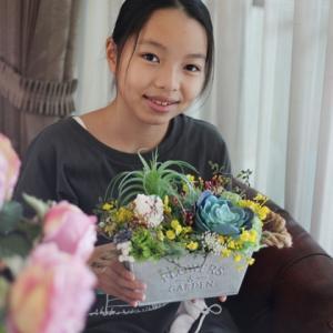 【親子でレッスン】#お花で気分転換 #コロナ疲れ #外出自粛6月まで延長・・・