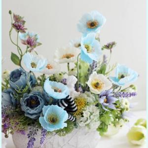 【6月のテーマ】雨の季節が目前!? ブルーのお花で瑞々しく爽やかに・・☆彡