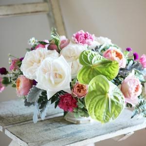 【生花レッスン】11月のお花は豪華で華やかなローズ❀