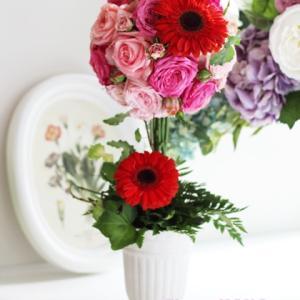 【月に一度のフレッシュフラワー】生花でトピアリーに挑戦好きなスタイルを探してみて!!