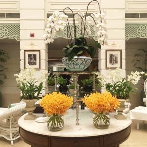 【蘭の国タイランド】撮りためていた蘭の装飾のお写真をご紹介❀