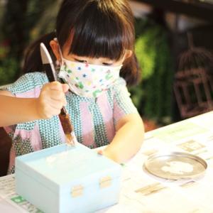 【お子様と一緒に】幼稚園のお休みが長引き・・・❀親子でアレンジメント制作を楽しもう!!