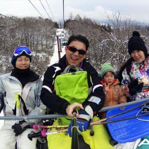 今シーズン初滑りin高鷲スノーパーク~追い撮り&自撮り撮影編~