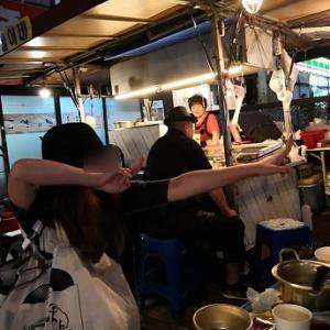 こんなときほど日韓友好!鐘3屋台で韓国若者と本音で?(笑)トーク??