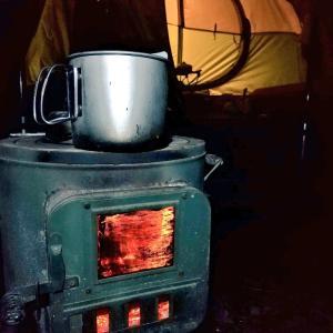 【ザワワ村】開拓物語 第47話「寒くなったらアウトドア薪ストーブ」
