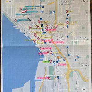 シアトル観光マップ