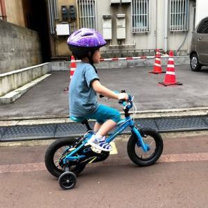 自転車練習☆