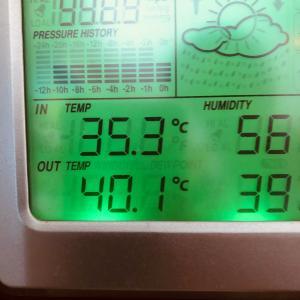 暑いはずだ!