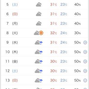 一気に秋の長雨か?
