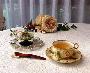★☆優しい陽ざし☆ ティ-タイムは手作り抹茶プリン善哉で・・・♪☆★