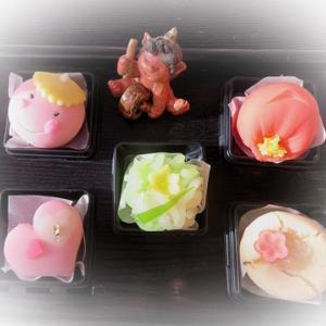 ★☆2月花カレンダ-☆彡&季節の和菓子♪☆★