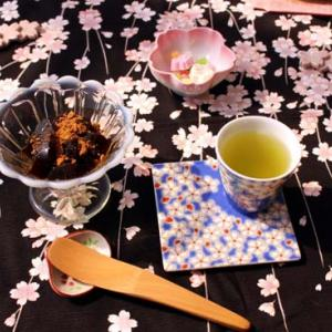 ★☆四月・花カレンダ-☆ティ-タイムはかぶせ茶で♪☆★