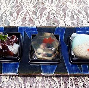 ★☆季節の和菓子☆&ティ-タイムは♪☆★