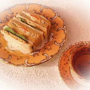 ★☆サンドイッチブランチ♪&箸置き二点☆☆★