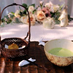 ★☆今日はお抹茶で♪&陶泉窯と京の手仕事・戦利品☆ ☆★