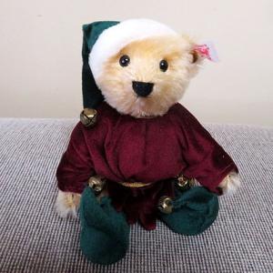 ★☆Steiff Santa ELF☆&ティ-タイムは♪☆★
