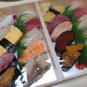 昨日は寿司!