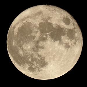 イライラと月