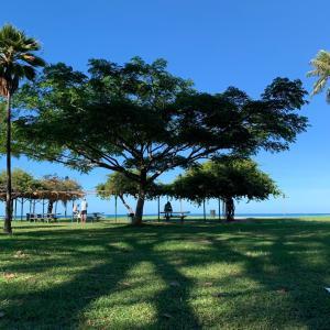ビーチヨガ in ハワイ