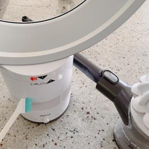 ダイソンの扇風機の掃除