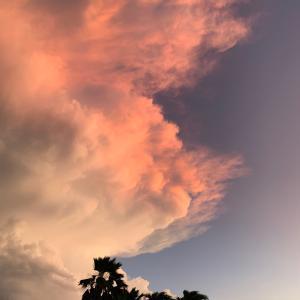 夜通しの雷 in ホノルル