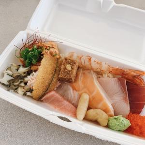 お寿司のテイクアウト for lunch
