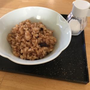 ヨーグルトモードで浸水して酵素玄米
