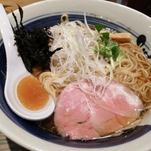 西新宿「麺屋 翔 みなと」その2・真鯛の醤油ラーメン