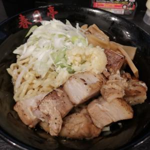 新宿西口店「春日亭 西新宿店」濃い味で大ボリュームの油そば