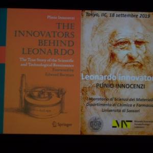 講演会「革新者レオナルド・ダ・ヴィンチ 機械と発明」に行ってきました(2019.9.18)@イタリア文化会館