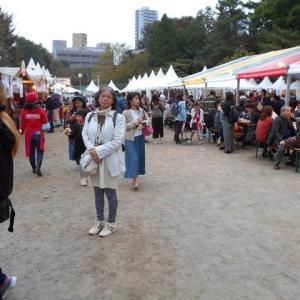 ドイツフェスティバル2019に行ってきました(2019.11.3)@都立青山公園南地区/2019.11.1(金)~4(月/祝)開催