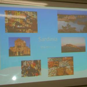 Giovanni先生の「サルデーニャ講座」に行ってきました(2020.3.7)@高円寺ピアッツアイタリア