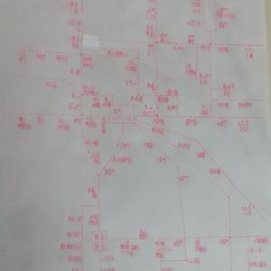 熊本市主要部バス停留所一覧図①