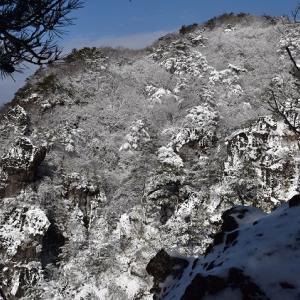 冬の霊山・春の花見山