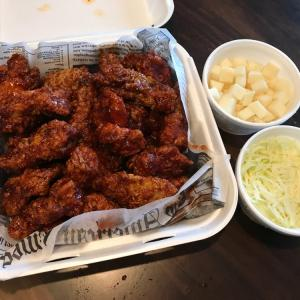 アメリカで食べる韓国料理★トンカス、ジャジャミョン、ヤンニョムチキン