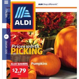 ALDIのカービング用パンプキン