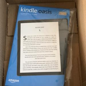 kindle oasis★小さすぎて驚きました。