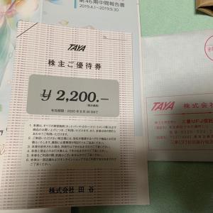 田谷と鉄人化計画の株主優待