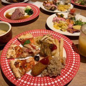 goto eat で the buffet and marcheグランフロントetc